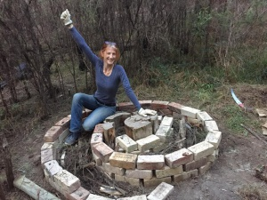 Hügelkultur Herb Spiral