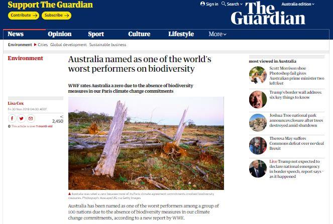 Biodiversity Headlines