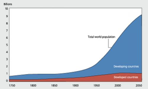 World Bank Population Prediction Curves