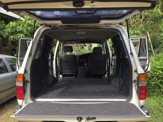 Down-sizing for Toyota Landcruiser